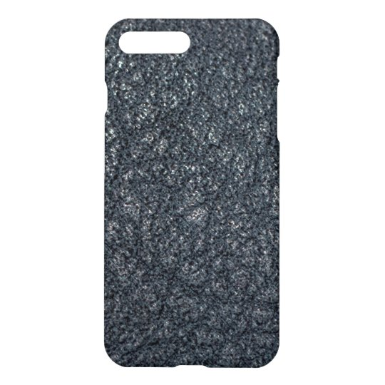 Vintage Textured Black Leather iPhone 8 Plus/7 Plus Case