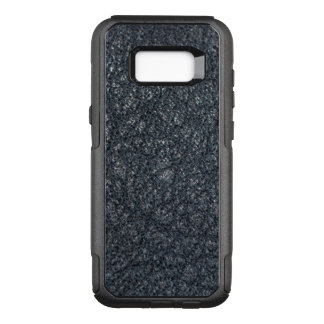 Vintage Textured Black Leather OtterBox Commuter Samsung Galaxy S8+ Case