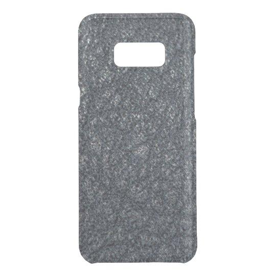 Vintage Textured Black Leather Uncommon Samsung Galaxy S8 Plus Case