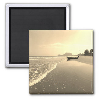 Vintage Thailand Deserted Beach Magnet