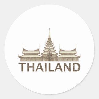 Vintage Thailand Stickers