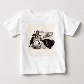 Vintage Thanksgiving Baby T-Shirt