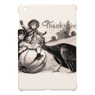 Vintage Thanksgiving Cover For The iPad Mini