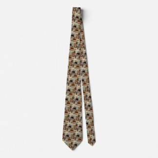 Vintage Thanksgiving Day Turkey Dinner with Family Tie