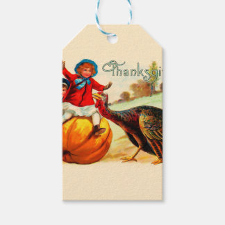 Vintage Thanksgiving Gift Tags
