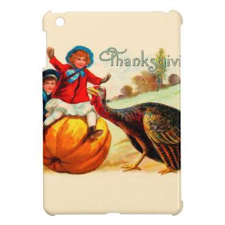 Vintage Thanksgiving iPad Mini Cover