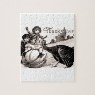 Vintage Thanksgiving Jigsaw Puzzle