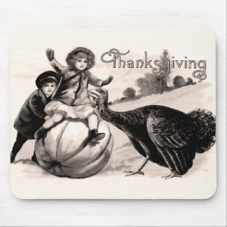 Vintage Thanksgiving Mouse Pad