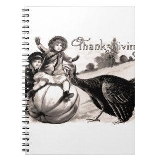 Vintage Thanksgiving Notebooks