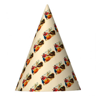 Vintage Thanksgiving Party Hat