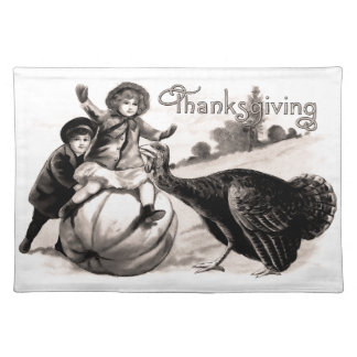 Vintage Thanksgiving Placemat