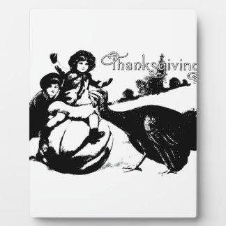 Vintage Thanksgiving Plaque