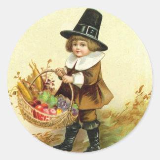 Vintage Thanksgiving Sticker