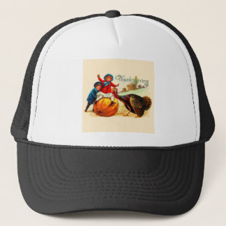 Vintage Thanksgiving Trucker Hat