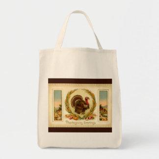 Vintage Thanksgiving Turkey Bag