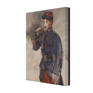 Vintage The Bugler by Edouard Manet Canvas Print