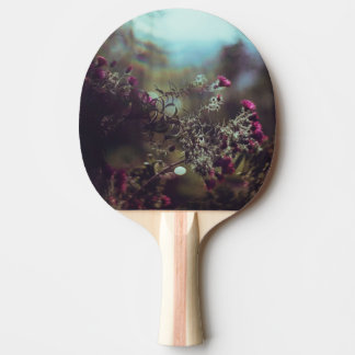 Vintage Thorny Flower Ping Pong Paddle
