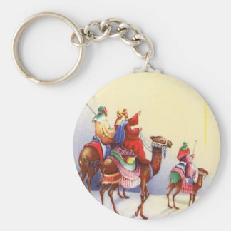 Vintage Three Wise Men Keychain