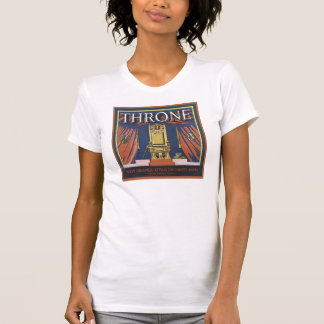 Vintage Throne Citrus Growers Crate Label T Shirt