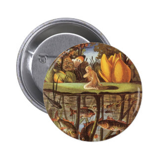 Vintage Thumbelina Fairy Tale, Eleanor Vere Boyle 6 Cm Round Badge