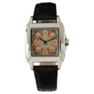 Vintage Tibetan Tantric Buddhism Mandala Watch