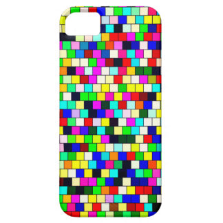 Vintage tile color background barely there iPhone 5 case