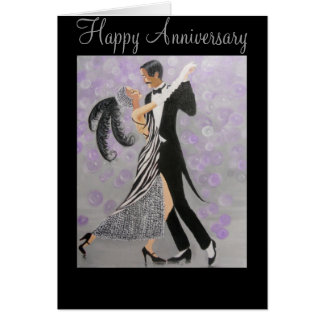 Vintage, Timeless Love, anniversary card