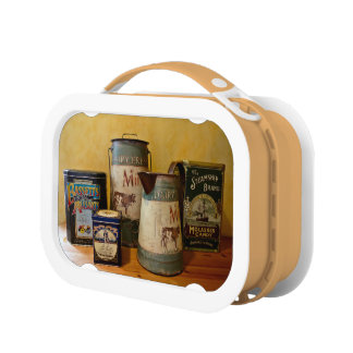 Vintage Tins and Jugs Lunchboxes