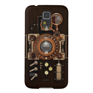 Vintage TLR Camera Dark Edition Case For Galaxy S5