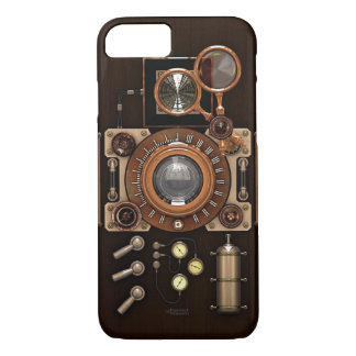 Vintage TLR Camera Dark Edition iPhone 8/7 Case