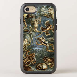 Vintage Toads and Frogs Batrachia by Ernst Haeckel OtterBox Symmetry iPhone 7 Case