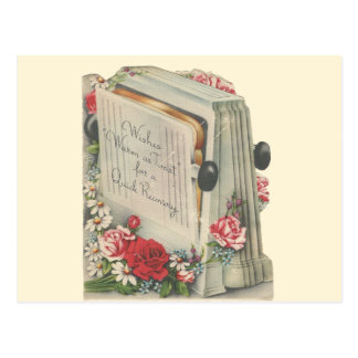 "Vintage ""Toast"" Recovery Postcard"