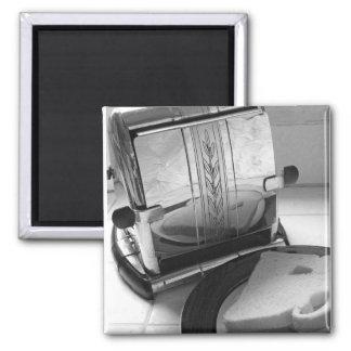 Vintage Toaster Kitchen Art Fridge Magnet