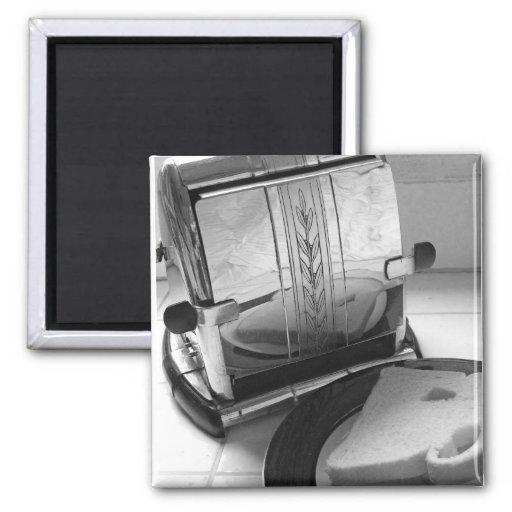Vintage Toaster Kitchen Art Fridge Magnet Fridge Magnet