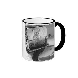 Vintage Toaster Kitchen Art Ringer Mug