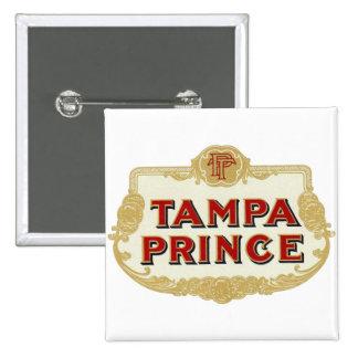 Vintage Tobbacco Cigars Tampa Prince LabelVintage Button