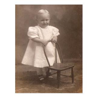 Vintage Toddler Postcard