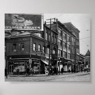 Vintage Toronto, Ontario, Canada Poster