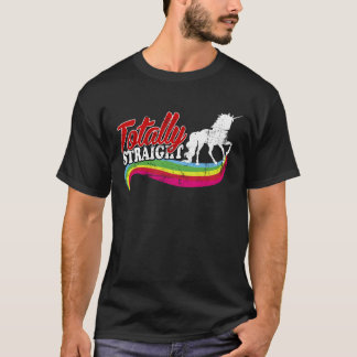 Vintage Totally Straight Unicorn T-Shirt