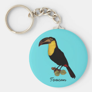 VINTAGE TOUCAN BIRD. TOUCAN KEY HOLDER KEY RING