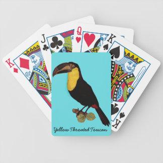 VINTAGE TOUCAN BIRD. TOUCAN PLAYING CARDS