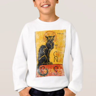 Vintage Tournee du Chat Noir Black Cat Halloween Sweatshirt