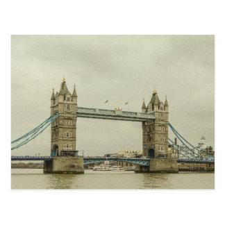 Vintage Tower Bridge Postcard