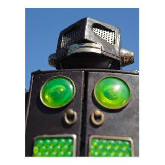 Vintage Toy Robot Postcards