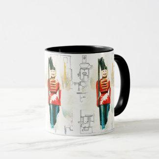 Vintage Toy Soldier Christmas Mug