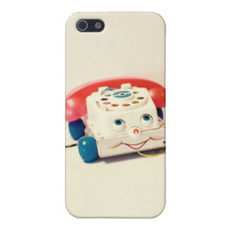 Vintage Toy Telephone iPhone Case iPhone 5/5S Cover