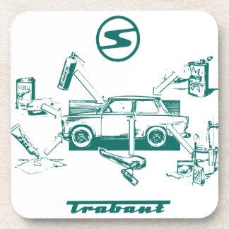 Vintage trabant coaster