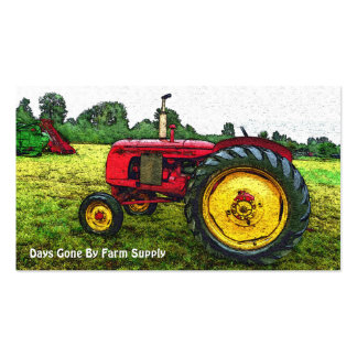 Vintage Tractor Farm Supply or Country Store Business Cards