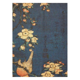 Vintage Traditional Japanese Paper Print Tablecloth