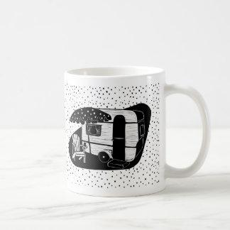 Vintage Trailer Polka Dot Mug